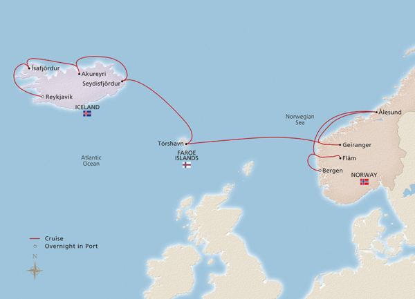 ICELAND'S MAJESTIC LANDSCAPES